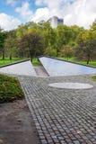 伦敦- 11月3 :加拿大纪念品在没有的绿园伦敦 图库摄影
