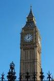 伦敦- 3月13 :大本钟看法在2016年3月13日的伦敦 免版税库存图片