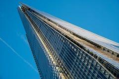 伦敦- 12月6 :碎片的看法在12月6日的伦敦, 库存照片