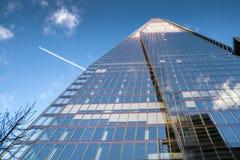 伦敦- 12月6 :碎片的看法在12月6日的伦敦, 免版税图库摄影