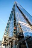 伦敦- 12月6 :碎片的看法在12月6日的伦敦, 免版税库存照片