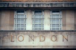 伦敦建筑学 库存图片