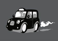 伦敦黑色小室出租汽车 向量例证