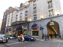 Margaret撒切尔死了的Ritz旅馆 免版税库存图片