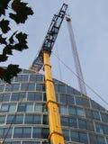 伦敦建造者起重机 免版税库存图片