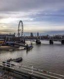 伦敦-滑铁卢地区,英国 库存图片