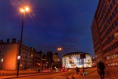 伦敦滑铁卢IMAX戏院 免版税库存照片