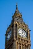 伦敦- DEC 9 :关闭大本钟看法在20的12月9日,伦敦 免版税库存图片