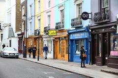 伦敦- Notting Hill 免版税库存图片