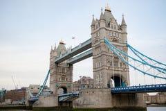 伦敦` s著名塔桥梁 免版税图库摄影