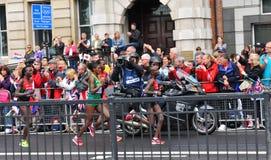 伦敦2012奥林匹克马拉松 免版税图库摄影