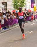 伦敦2012奥林匹克马拉松 免版税库存图片