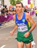 伦敦2012奥林匹克马拉松 库存照片
