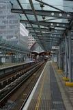 伦敦DLR驻地 免版税库存图片