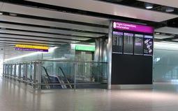 伦敦Heathrow 库存图片