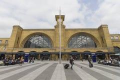伦敦King' s发怒火车站 库存图片