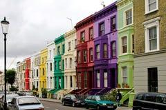 伦敦portobello 免版税图库摄影