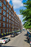 伦敦s街道 免版税图库摄影