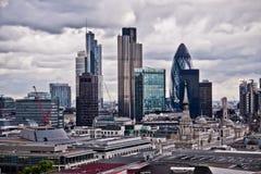 伦敦scyscrapers 免版税库存照片