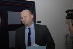 索伦耶森PAPE POULSEN_PARTY领导人C 库存图片