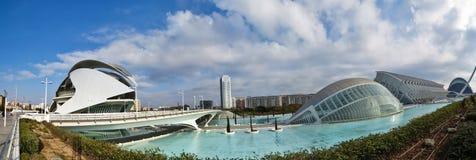 巴伦西亚全景 免版税库存图片