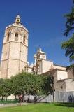 巴伦西亚大教堂 免版税图库摄影