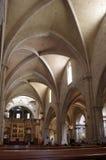 巴伦西亚大教堂 库存照片