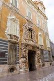 巴伦西亚帕拉西奥商品型号de多萨瓜斯宫殿 图库摄影