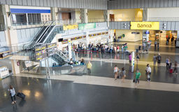 巴伦西亚机场 免版税库存照片