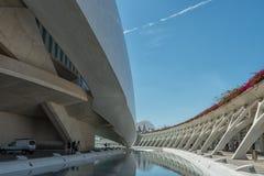 巴伦西亚的现代部分在西班牙 免版税图库摄影