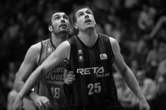 巴伦西亚篮子和毕尔巴鄂篮子 免版税库存照片