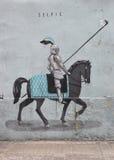 巴伦西亚街道画 免版税库存照片
