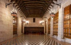 巴伦西亚,丝绸市场 免版税库存照片