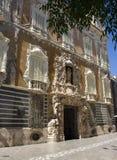 巴伦西亚,历史建筑 免版税库存照片
