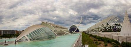 巴伦西亚,现代建筑学 免版税图库摄影