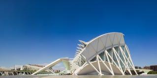 巴伦西亚,现代建筑学 图库摄影