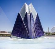 巴伦西亚,现代建筑学 库存图片