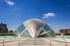 巴伦西亚,现代建筑学 库存照片
