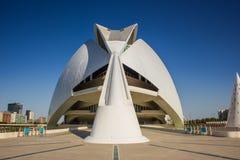 巴伦西亚,现代建筑学 免版税库存图片