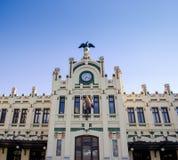 巴伦西亚,艺术Nouveau大厦 免版税库存照片
