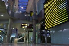 巴伦西亚,西班牙机场 库存照片
