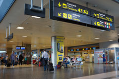 巴伦西亚,西班牙机场 免版税库存照片