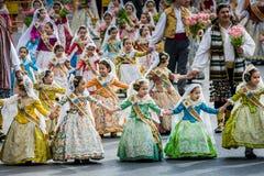 巴伦西亚,西班牙,法利亚斯节日 库存照片