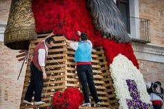 巴伦西亚,西班牙,法利亚斯节日 库存图片