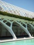 巴伦西亚,西班牙- 2009年8月:艺术和科技馆卡拉特拉瓦 免版税库存照片