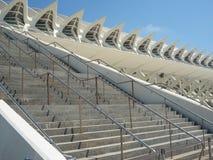 巴伦西亚,西班牙- 2009年8月:艺术和科技馆卡拉特拉瓦 免版税库存图片