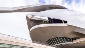 巴伦西亚,西班牙2016年12月01日:艺术和科学城市 图库摄影