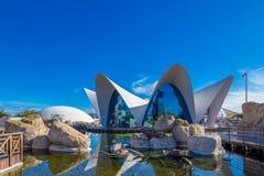 巴伦西亚-艺术和科学城市 免版税库存图片