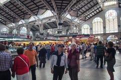 巴伦西亚主要市场 免版税库存图片