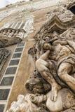 巴伦西亚& x28; Spain& x29; 商品型号de多萨瓜斯宫殿  免版税库存图片